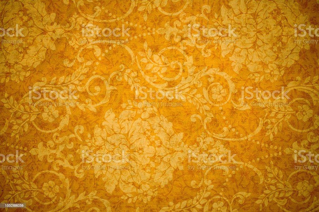 Gold Retro Background royalty-free stock photo