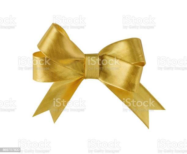 Gold ribbon bow isolated on white picture id869757800?b=1&k=6&m=869757800&s=612x612&h=towu bujqxcu1mqxazfy t19zukybncflbslhgw89eu=