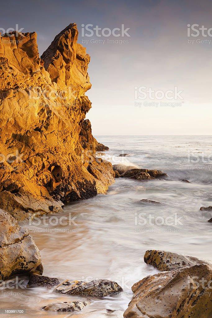 Gold Rock royalty-free stock photo