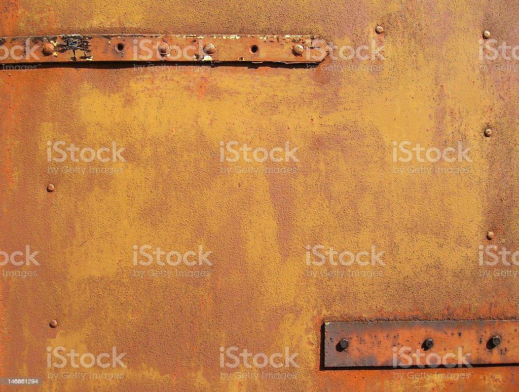 Gold rust stock photo