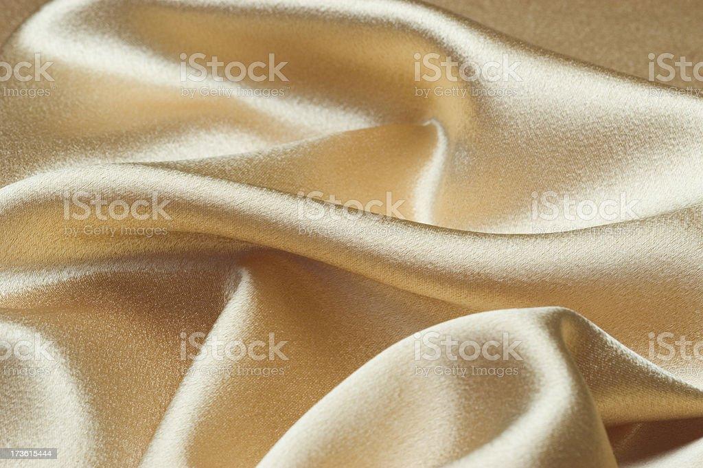 Gold Satin royalty-free stock photo