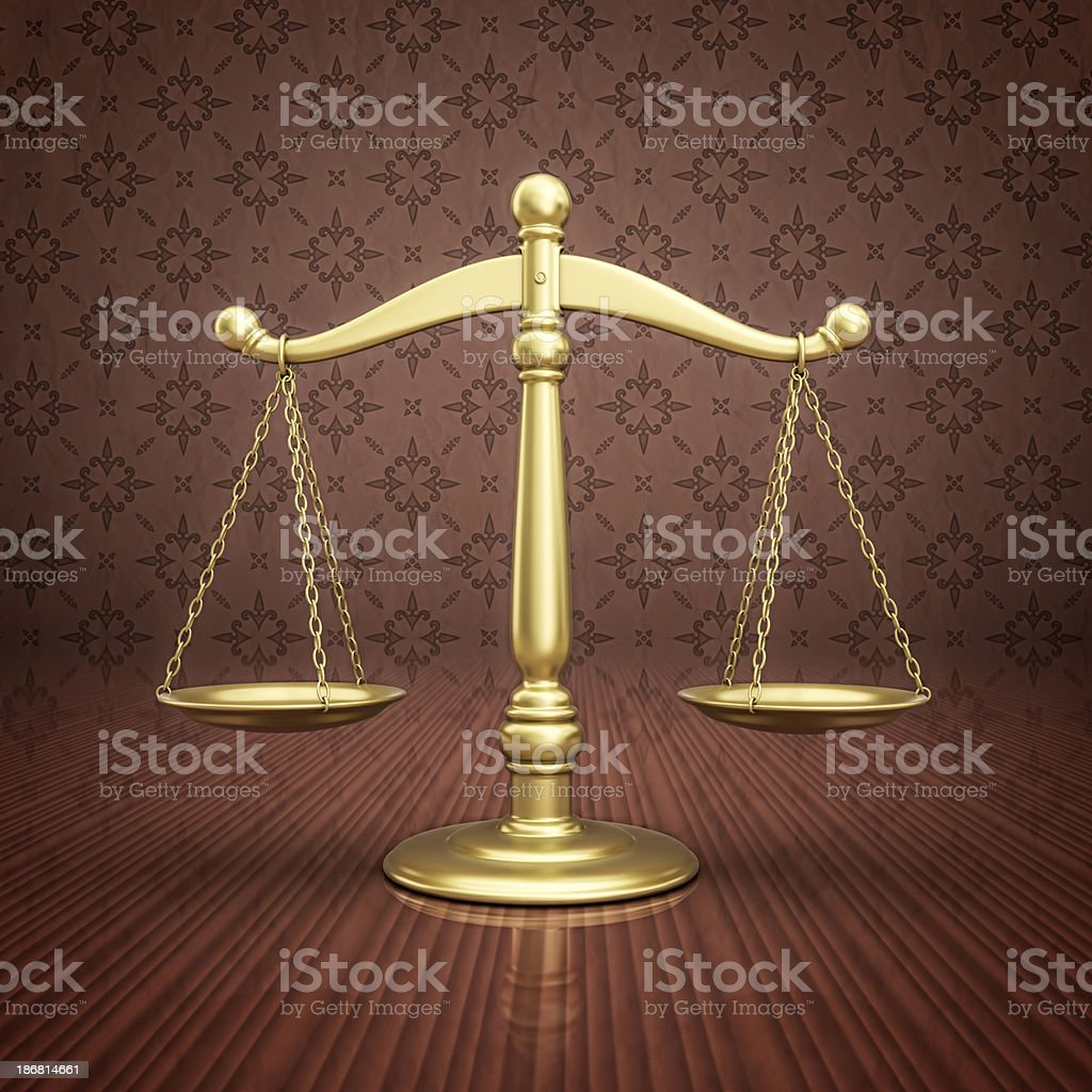 gold scale royalty-free stock photo