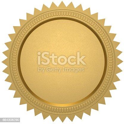 istock gold seal 664308290
