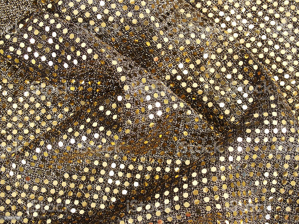 Gold Sequin Background royalty-free stock photo