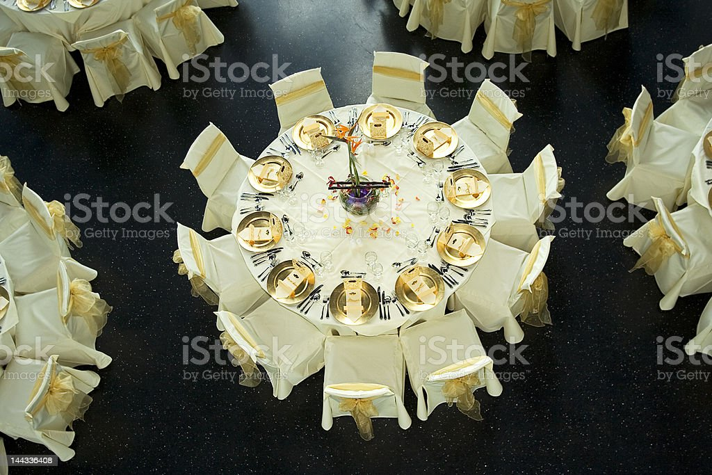 Gold Service royalty-free stock photo