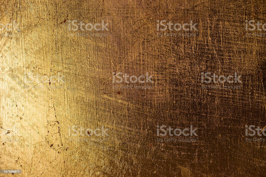 Gold Shadowed Texture stock photo