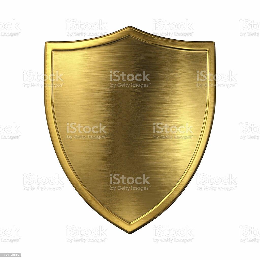 Gold shield - Photo