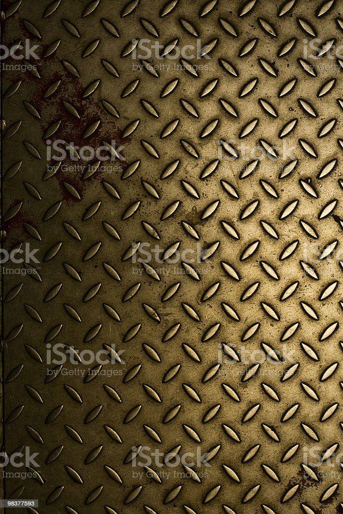 Gold Shiny Plate royalty-free stock photo