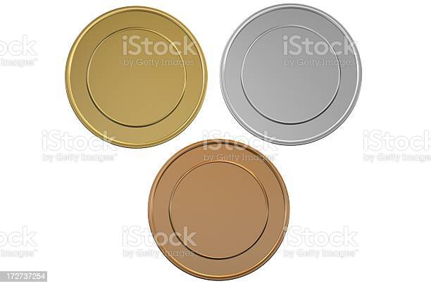 Gold silver and bronze blank medalscoins picture id172737254?b=1&k=6&m=172737254&s=612x612&h=vrwjuhxcpjx  xme5aw62fr 8fcg11m fk4daw7uob4=