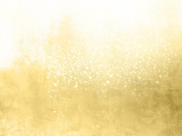 guld gnistra bakgrund-abstrakt festlig bakgrund med glittrande stjärnor - guld bakgrund bildbanksfoton och bilder