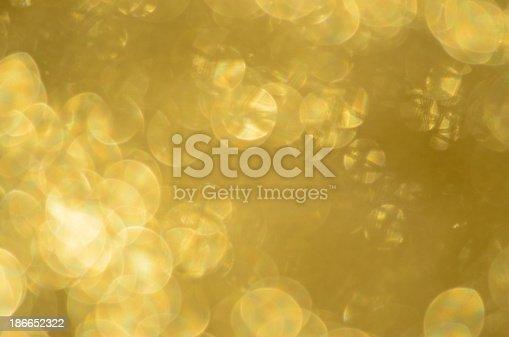 istock Gold Sparkles Defocused 186652322