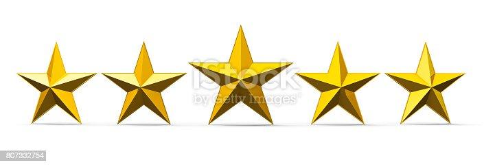 istock Gold Stars 807332754