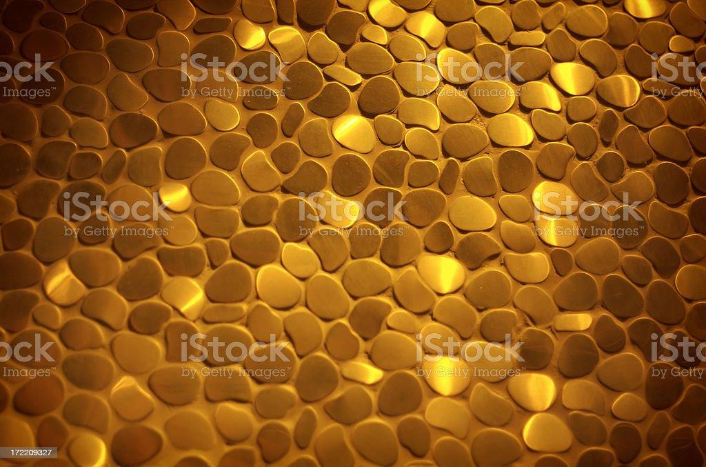 Gold stones royalty-free stock photo