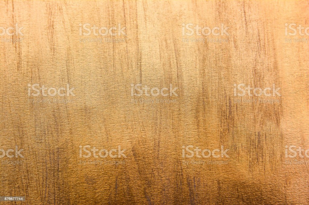 Gold striped texture background.Gold scratch texture stock photo