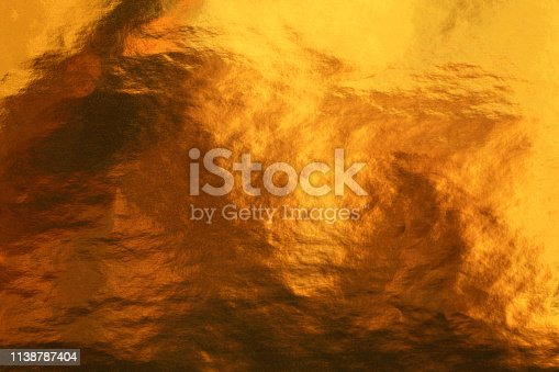 istock Gold surface 1138787404
