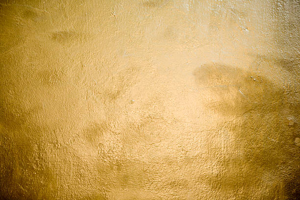 Gold Surface stock photo