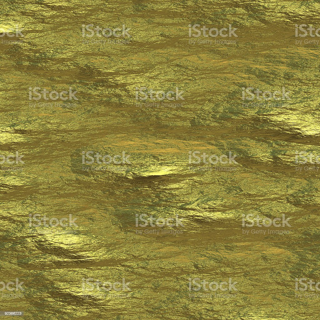 Gold surface royalty-free stock photo