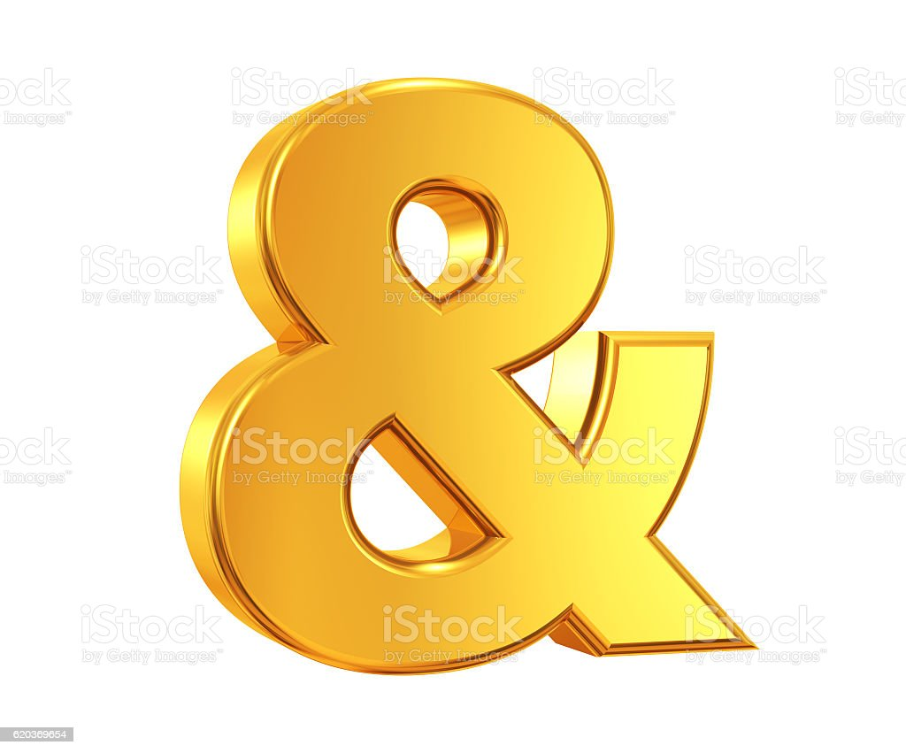 Gold & Symbol foto de stock royalty-free