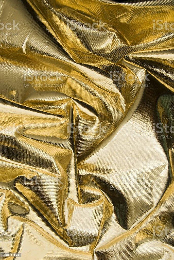 Gold textile texture royalty-free stock photo