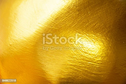 istock Gold texture background. 846622518