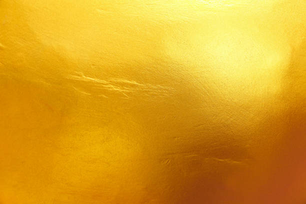 gold texture for background and design - foil stock photos and pictures