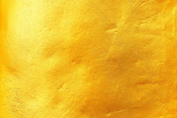 gold-textur für hintergrund und design - kupferfarbe stock-fotos und bilder