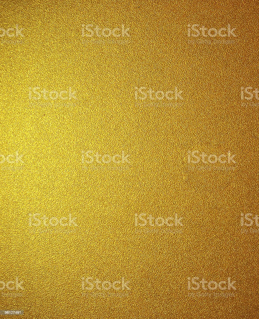 Gold Textured royalty-free stock photo