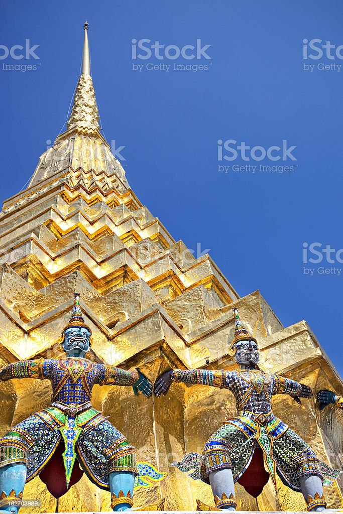 Gold Thailand stock photo