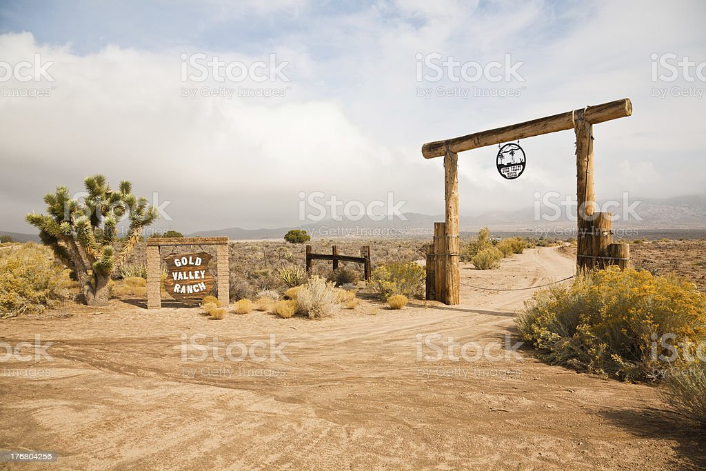 Gold Valley Ranch stock photo