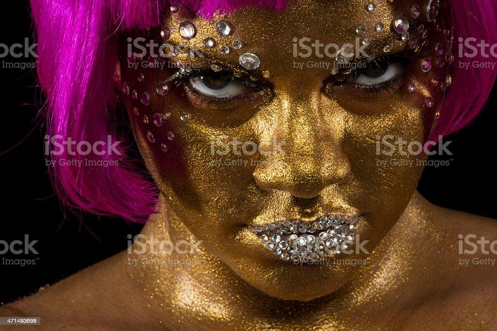 Gold Venus stock photo