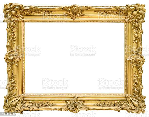 Gold vintage frame isolated on white background picture id497315730?b=1&k=6&m=497315730&s=612x612&h=6xdc7dovwyjv 3gkg0mfxbtostxb6x jayidfo9tehm=