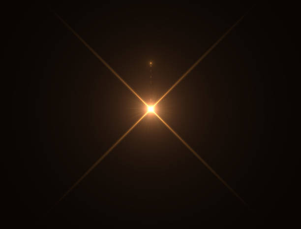 Gold warm color bright lens flare Gold warm color bright lens flare flashes leak for transitions on black background shiny stock pictures, royalty-free photos & images