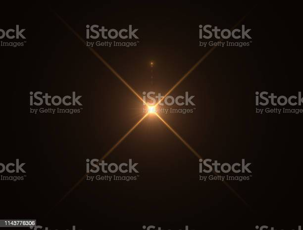 Photo of Gold warm color bright lens flare