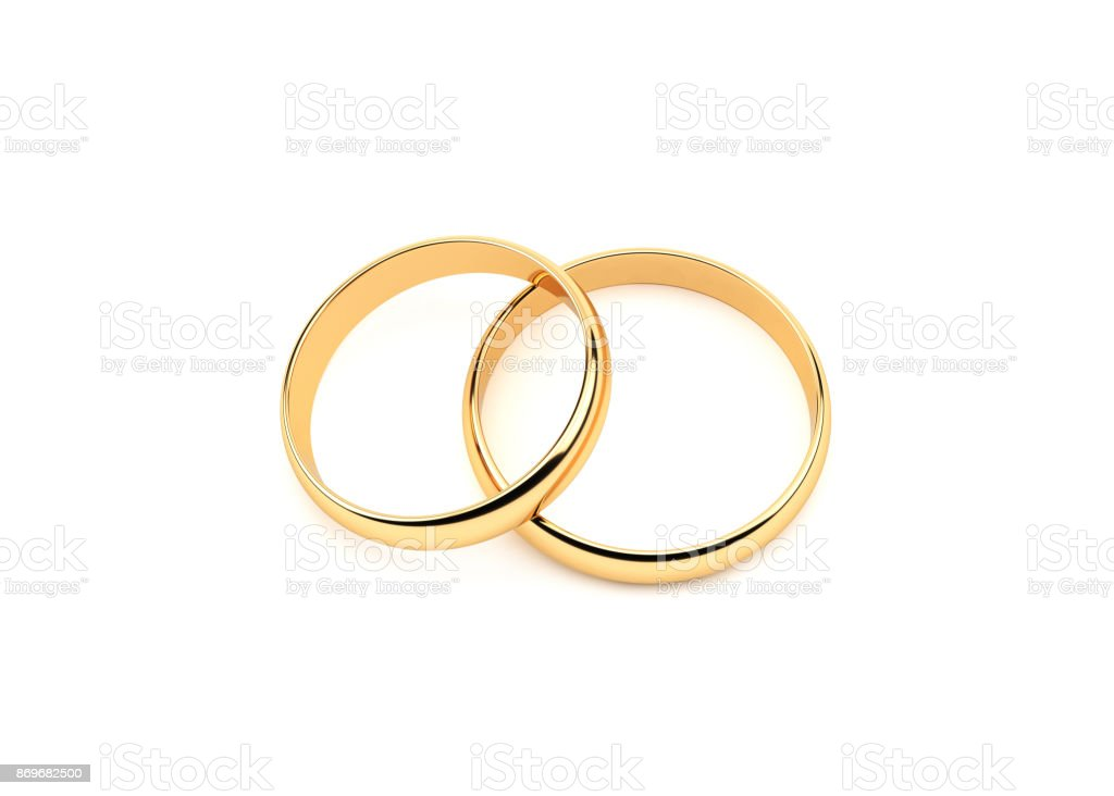 Rings.On or blanc - Photo