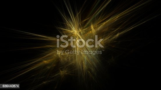 istock Gold yellow straw explosion abstract background 636440874