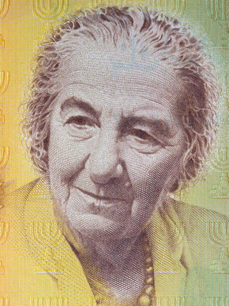 Golda Meir-Porträt – Foto