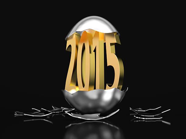Golden 2015 hatches aus einem Ei – Foto