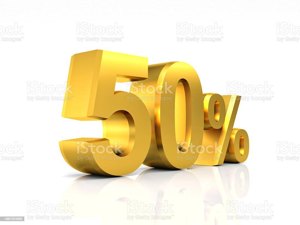 golden 50 discount stock photo