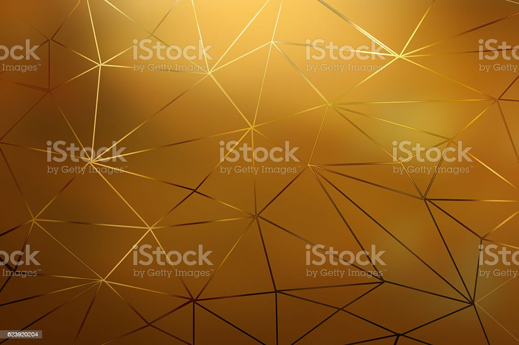 Golden abstact background stock photo