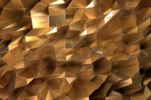 Golden Abstract - Fotografie stock e altre immagini di Architettura