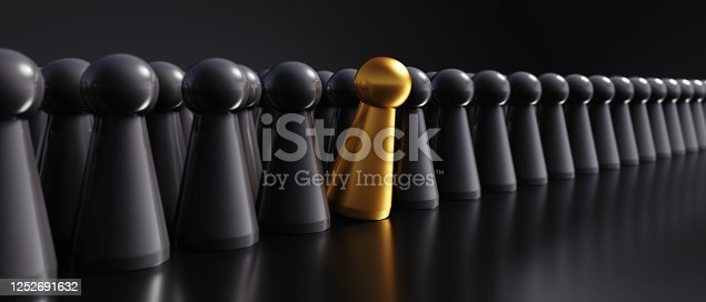 483424715 istock photo Golden and black game figures 1252691632