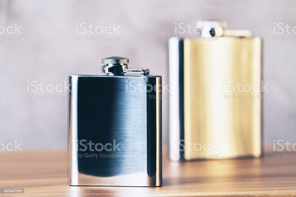 Dorato e argento Beuta - foto stock