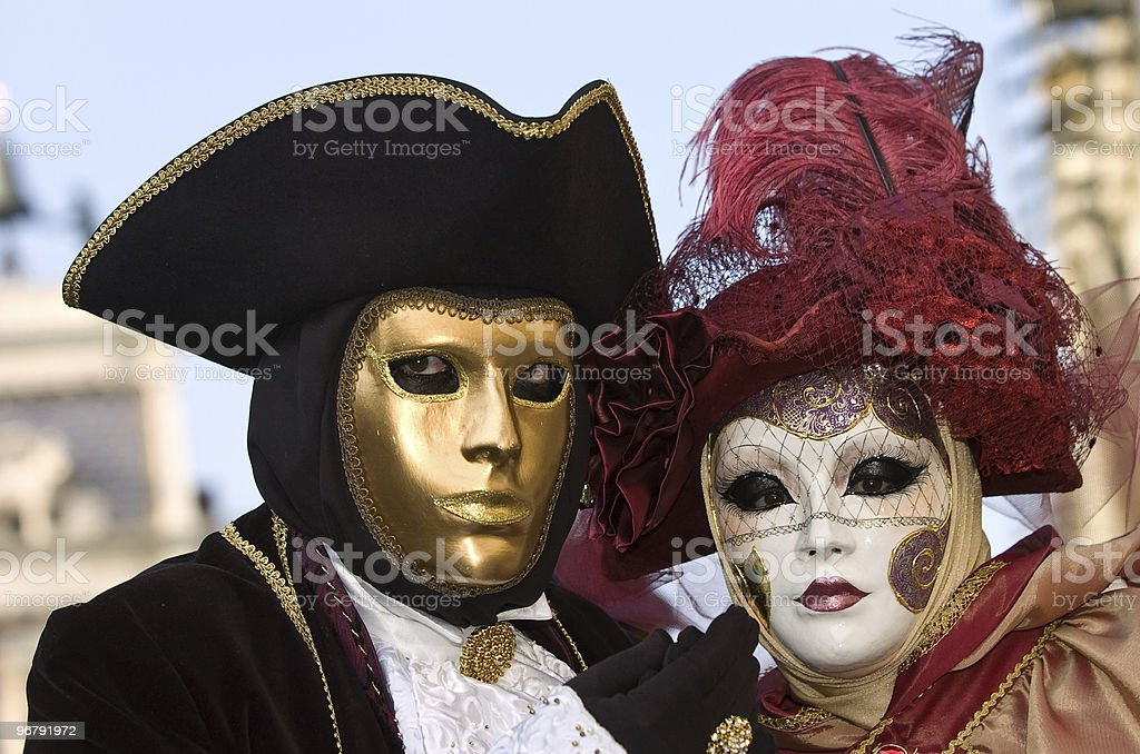 golden and white face royalty-free stock photo