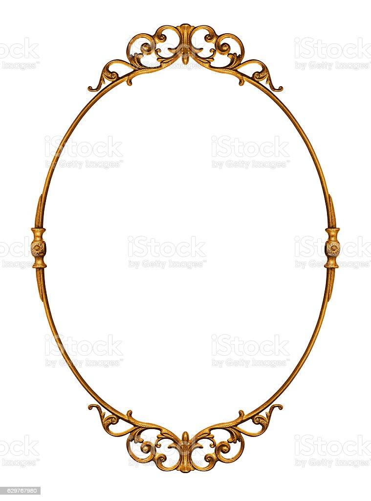 Golden Antiken Bilderrahmen - Stockfoto   iStock