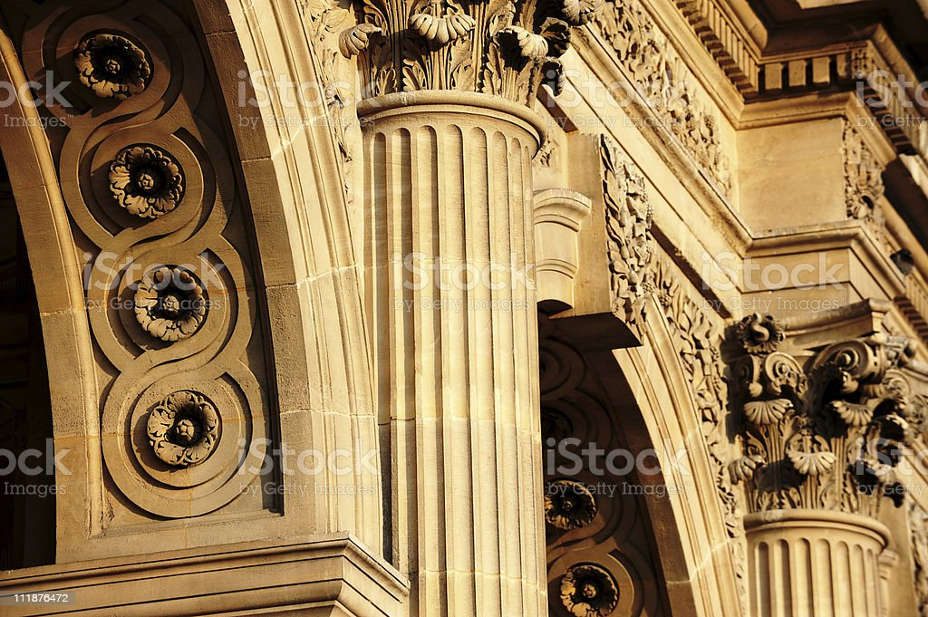 Golden Arches royalty-free stock photo