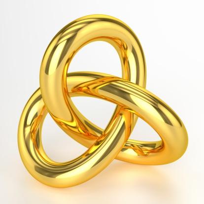 3D Golden Artwork