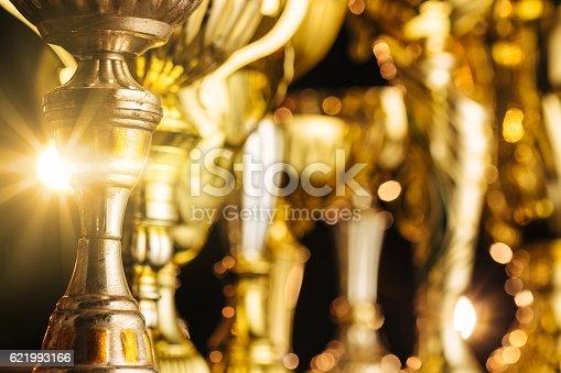 istock Golden awards. 621993166