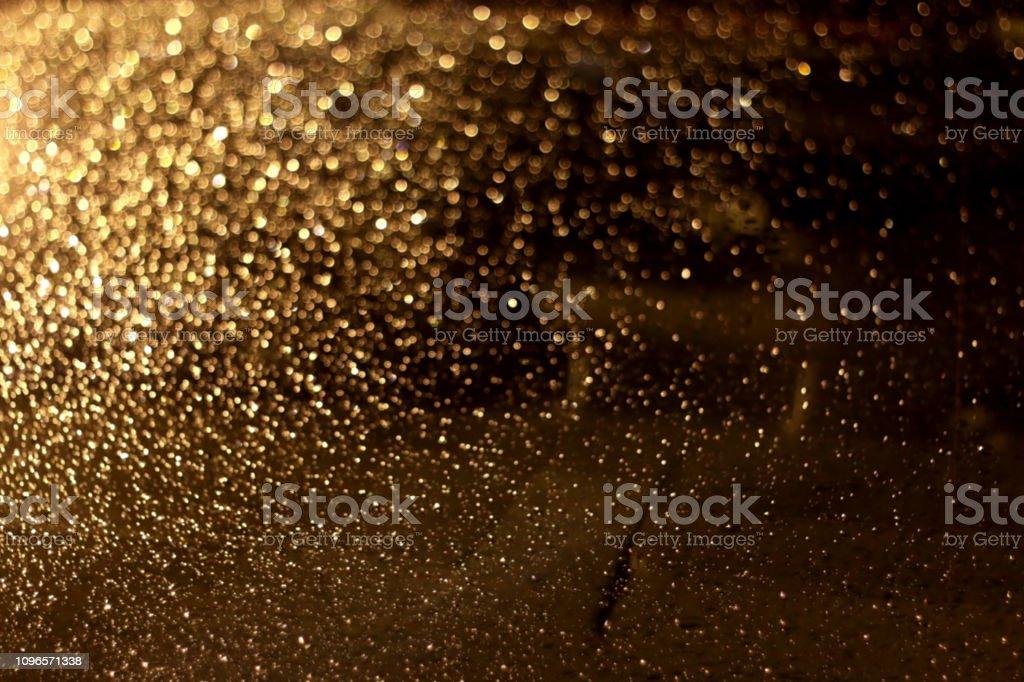 Golden Backgroud stock photo