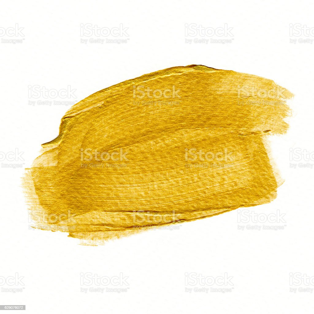 Golden background. Abstract gold color watercolor. stock photo