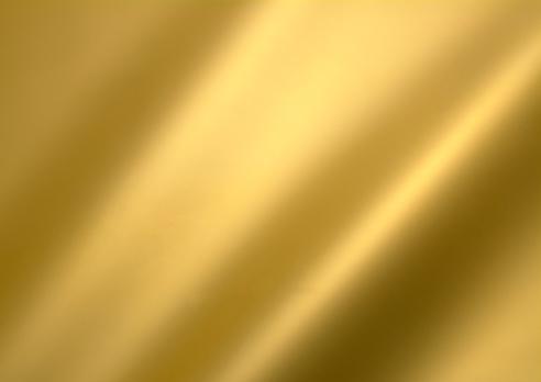 Golden metal sheet background